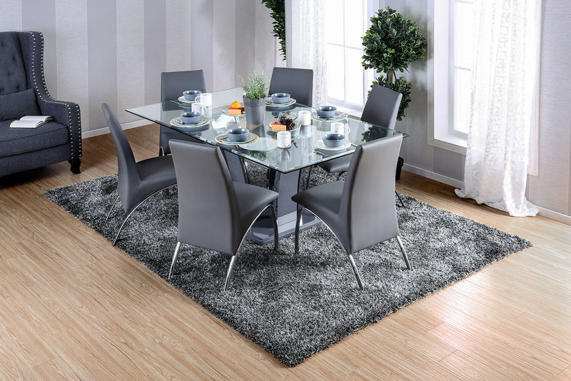 Glenview Dining Room Set in Gray