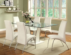 Glenview Dining Room Set in White