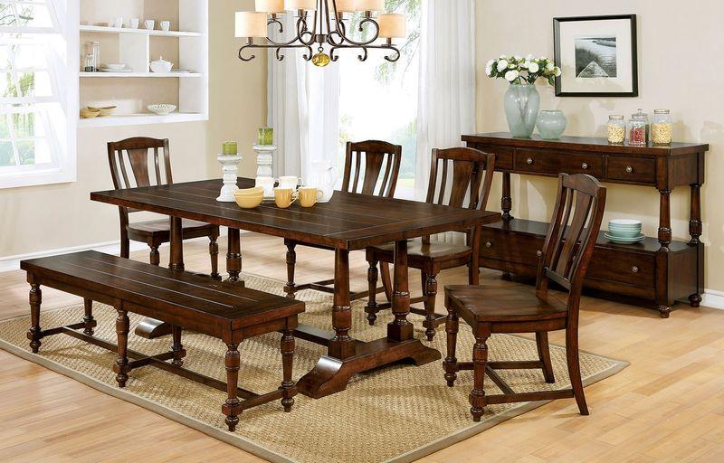 Griselda Dining Room Set with Bench