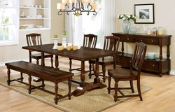 Griselda Dining Room Set with Bench