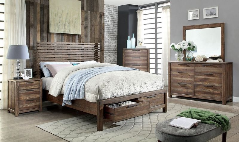 Hankinson Bedroom Set with Storage Bed