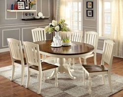 Harrisburg Dining Room Set with Oval Table