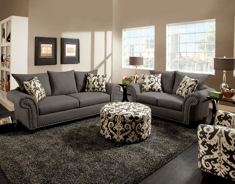 dallas designer furniture charles leather living room set