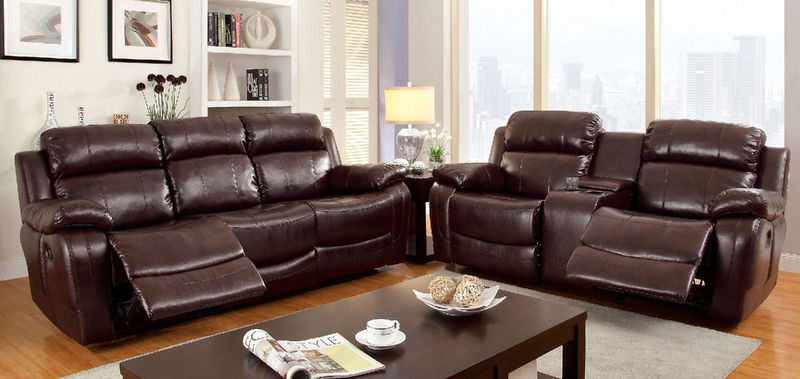 Hughes Reclining Living Room Set ...