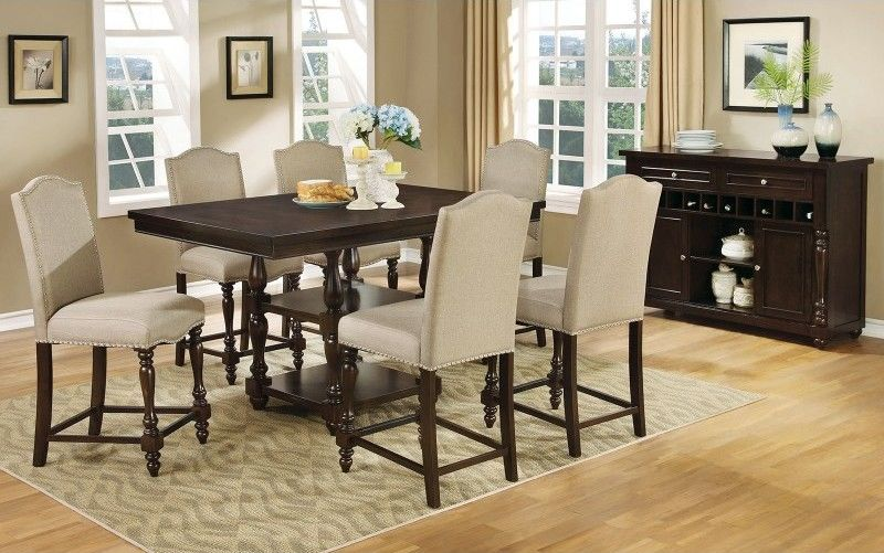 Hurdsfield Counter Height Dining Room Set