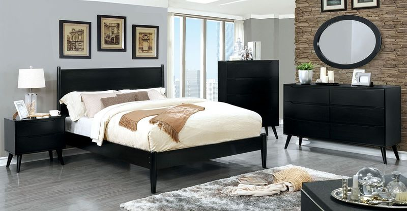 Lennart II Bedroom Set in Black