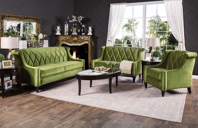 limerick living room set in green limerick living room set in green