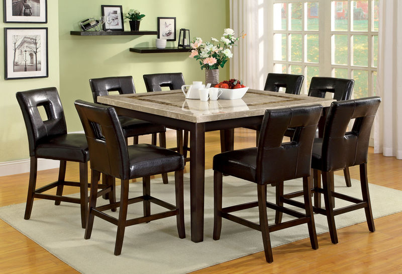 Lisbon Counter Height Dining Room Set