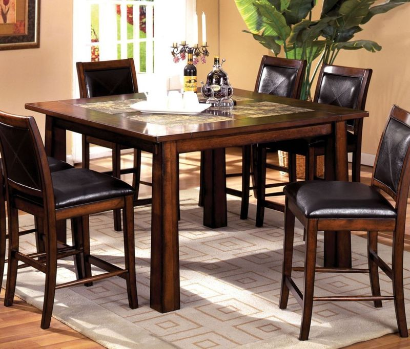 Living Stone Counter Height Dining Room Set