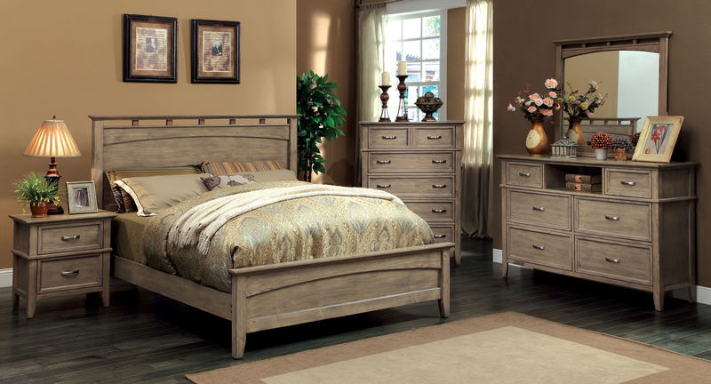 Loxley Bedroom Set with Low Footboard