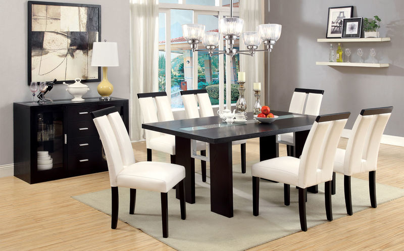 Luminar Dining Room Set in Black