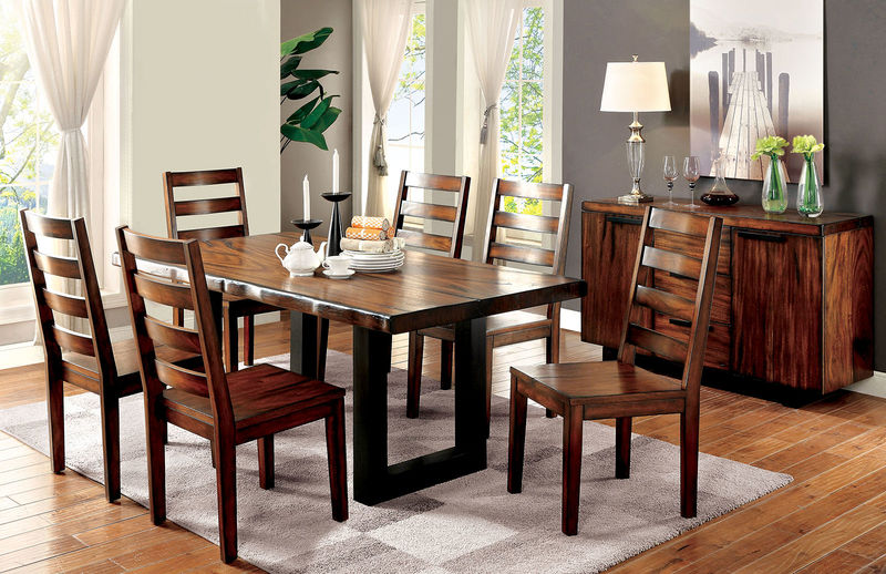 Maddison Dining Room Set with Bench