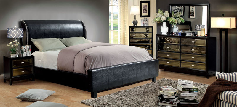 Maxon Bedroom Set in Black