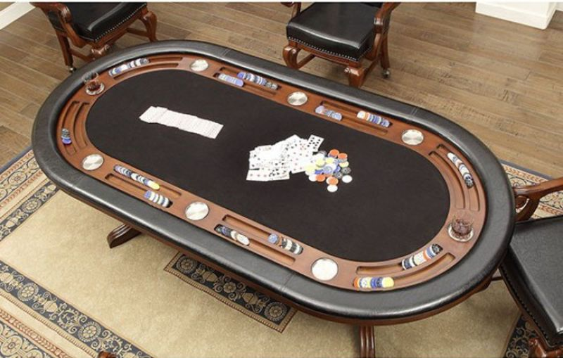 Melina Game Table Set in Cherry