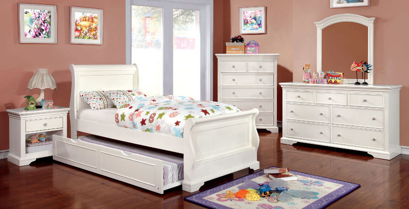 Mullan Youth Bedroom Set with Sleigh Bed