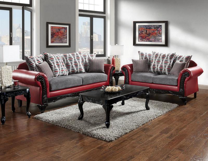 Furniture of America | SM7501 Myron Formal Living Room Set | Dallas  Designer Furniture