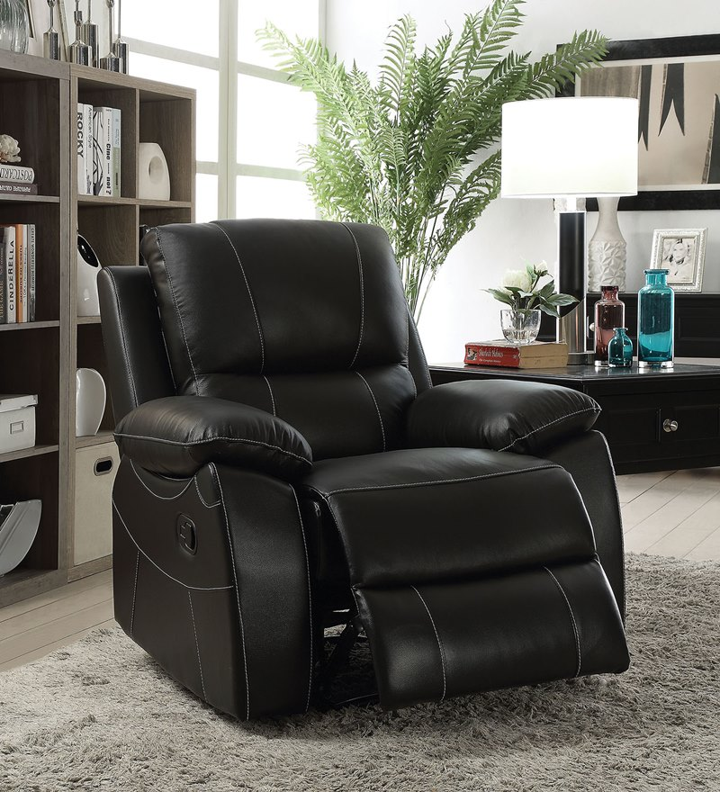 Nena Leather Reclining Living Room Set