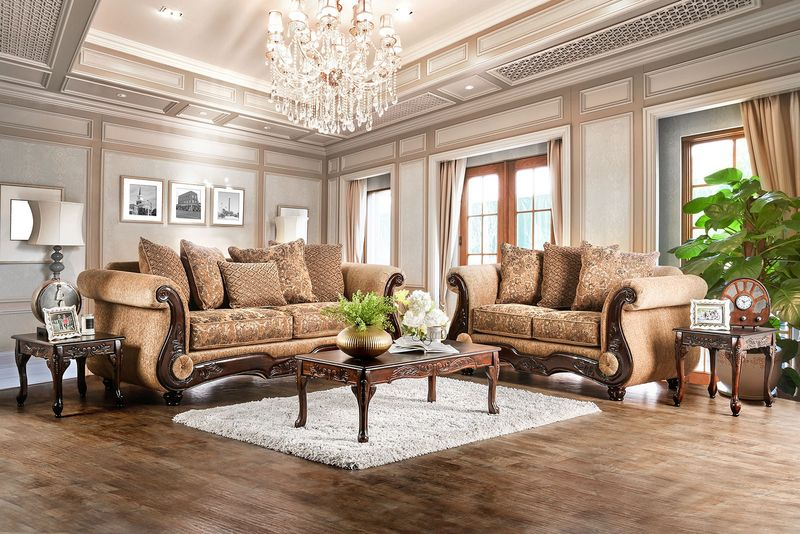Nicanor Formal Living Room Set