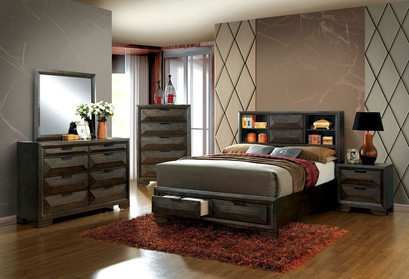 Nikomedes Bedroom Set with Storage Bed