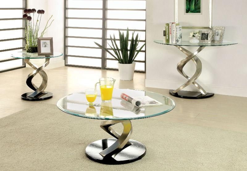 Furniture Of America Cm4729 Nova Coffee Table Set Dallas Designer