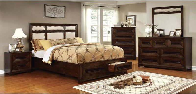 Orlaith Bedroom Set with Storage Bed