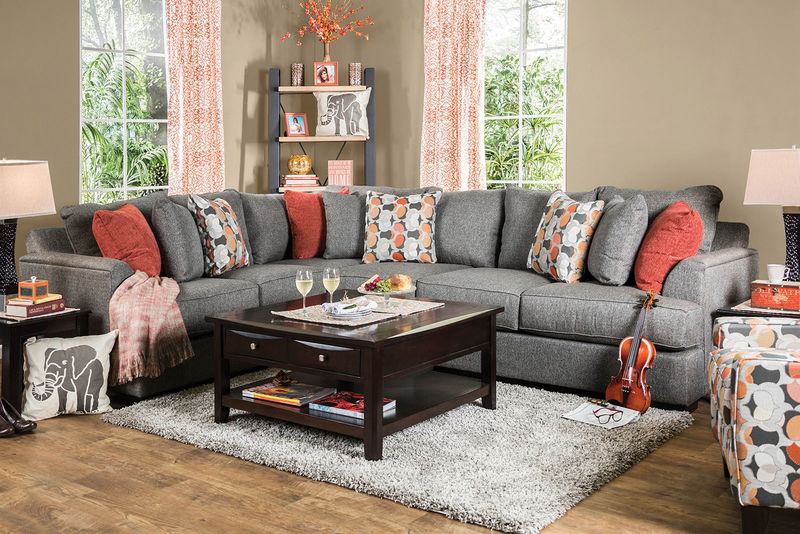 Pennington Sectional in Gray