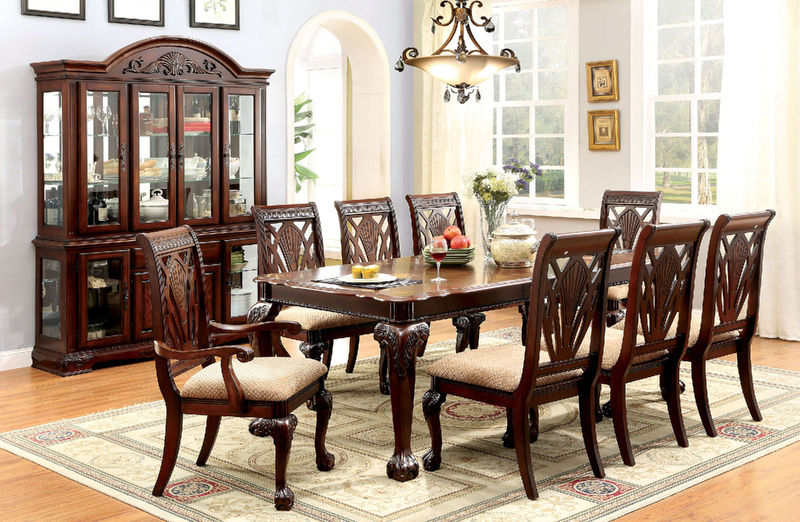 Dallas Designer Furniture | Petersburg I Formal Dining Room Set