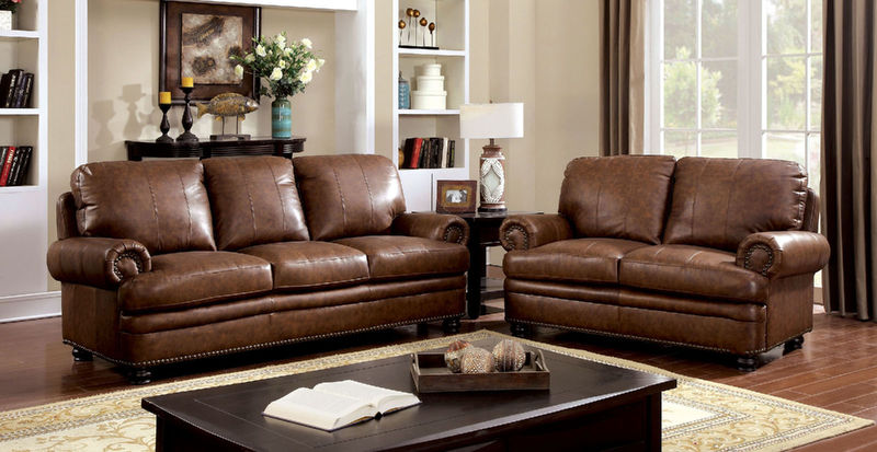 Rheinhardt Leather Living Room Set