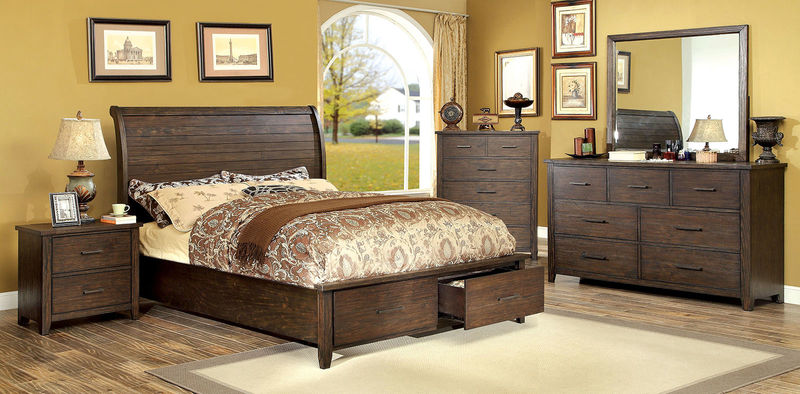 Ribeira Bedroom Set with Storage Bed