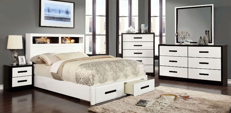 Rutger Bedroom Set with Storage Bed