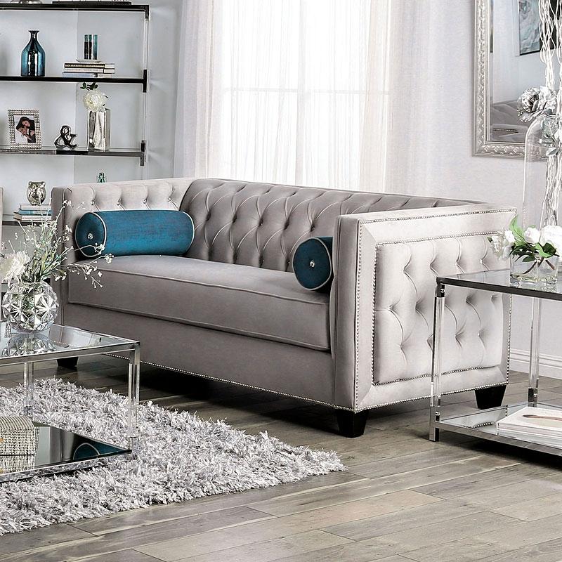 Silvan Living Room Set in Gray
