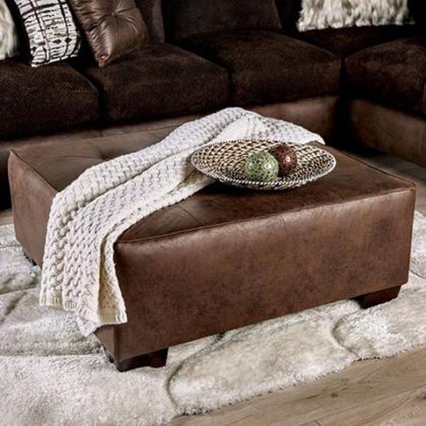 Gellhorn Sectional Sofa in Brown