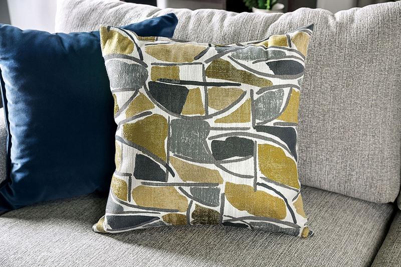 Viktor Sectional Sofa in Light Gray