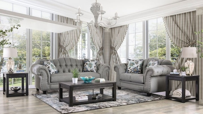 Glynneath Living Room Set in Gray