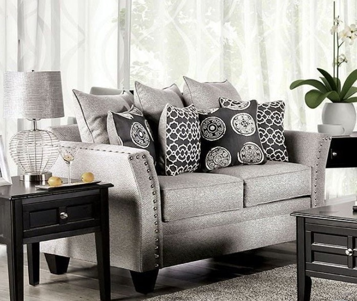 Talgarth Living Room Set in Gray