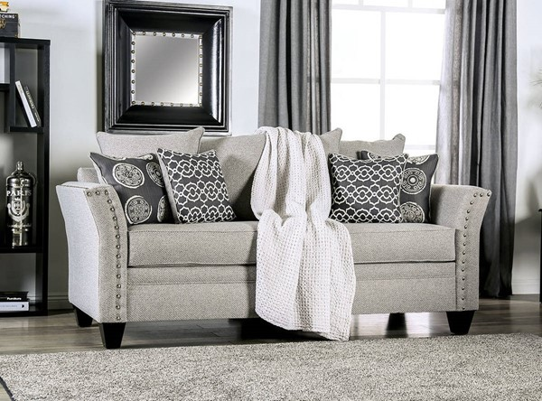 Talgarth Living Room Set in Gray