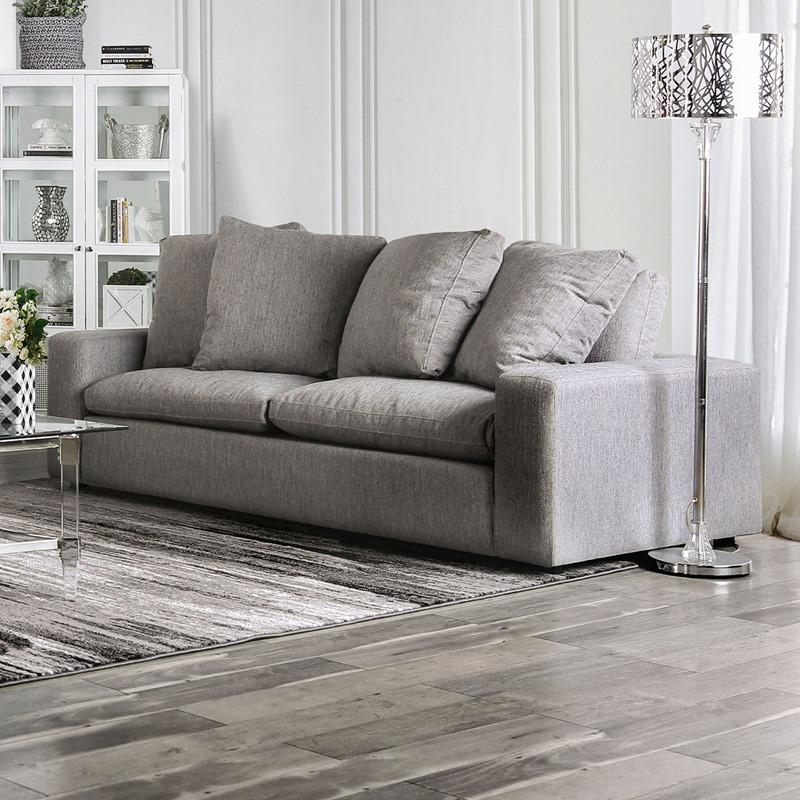 Acamar Living Room Set in Gray
