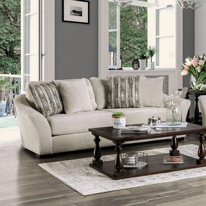Oacoma Living Room Set in Gray