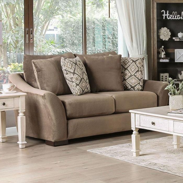 furniture of america  sm9114 oacoma mocha living room set
