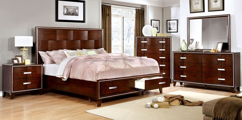 Safire Bedroom Set with Storage Bed