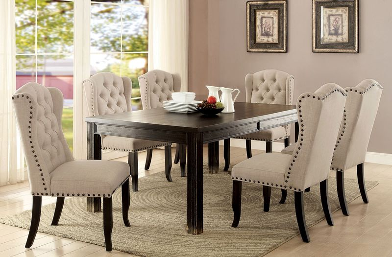Sania I Formal Dining Room Set