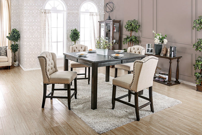 Sania III Counter Height Dining Room Set