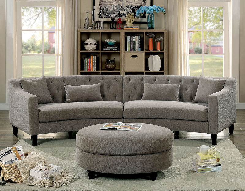 Sarin Sectional in Gray