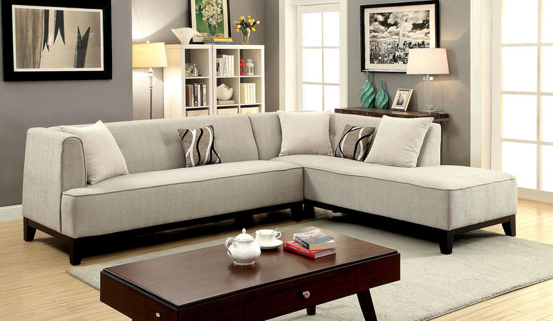 Sofia Sectional in Beige