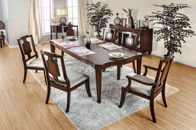 Dallas designer furniture keegan formal dining room set with pedestal table Dining room furniture dallas