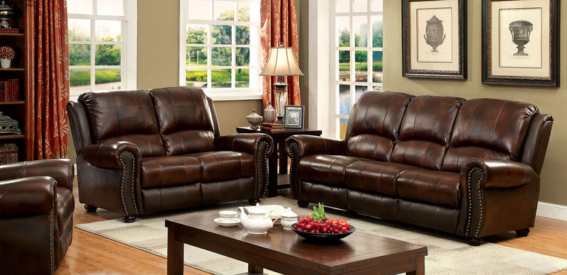 Turton Leather Living Room Set