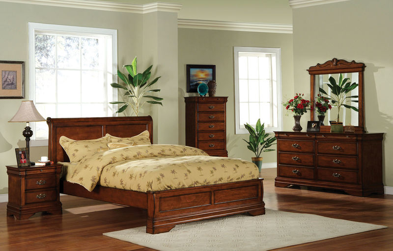 Venice Bedroom Set with Platform Bed