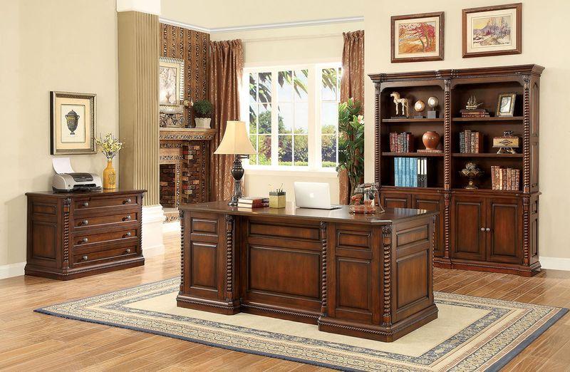 Furniture of America | CM-DK6380 Vicki Executive Desk Set | Dallas Designer  Furniture