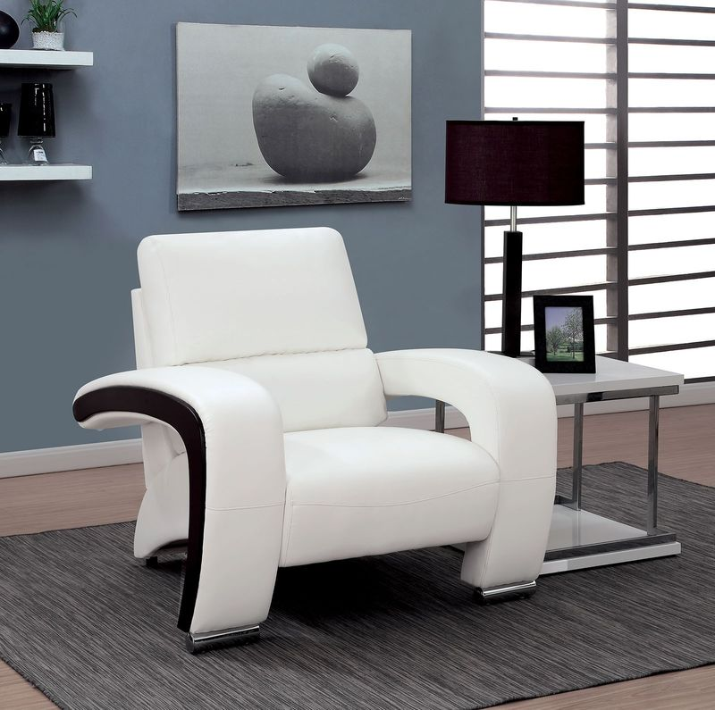 Wezen Living Room Set in White