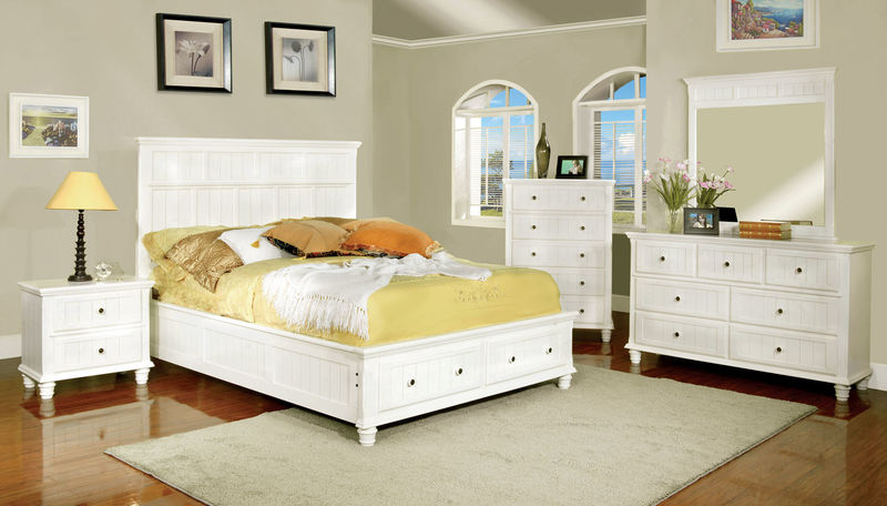 Willow Creek Bedroom Set in White